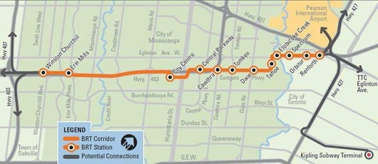 Bus Rapid Transit BRT-Mississauga
