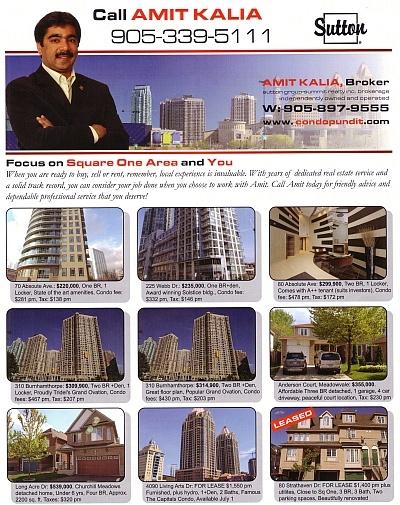 Mississauga real estate market May 2010