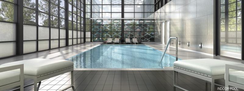 Downtown Erin Mills Condos pool