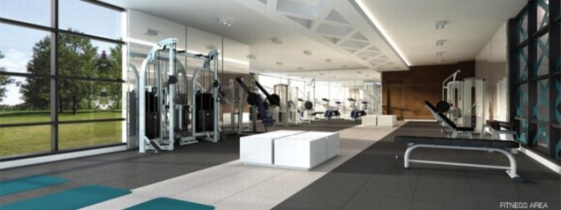 Downtown Erin Mills Condos gym