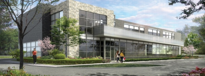 Rec centre Downtown Erin Mills Condos in Mississauga