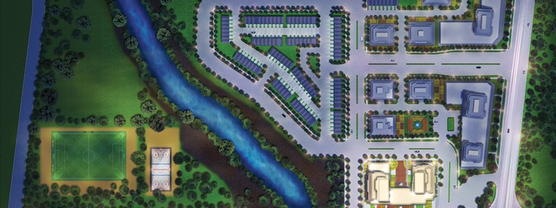 Pinnacle Uptown Crystal Condos Mississauga Masterplan