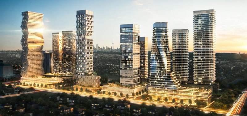M City condos project Mississauga