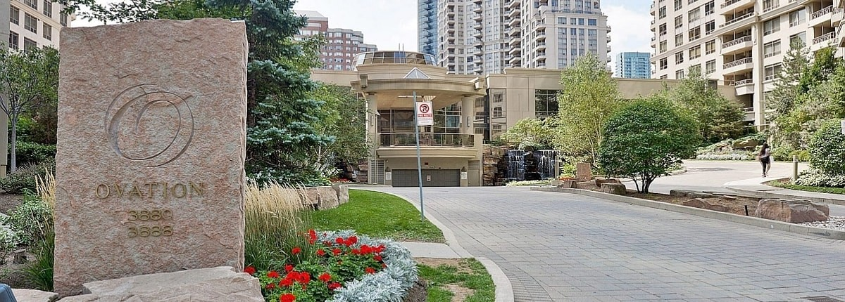 3880 and 3888 Duke of York Condos at Square One Mississauga