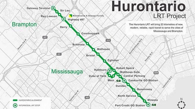 Hurontario LRT project