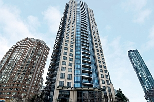 One Bedroom Plus Den Square One Condo for Sale