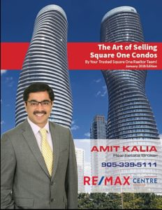 The Art of Selling Square One Condos Jan 2018 Edition by Team Amit Kalia