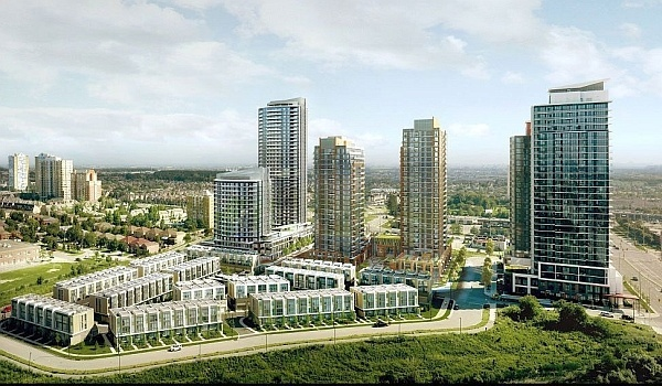 Perla Tower 2 Platinum Sales Mississauga. Pinnacle Uptown Condos