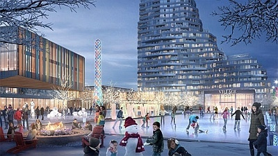 Lakeview Village Development in Mississauga