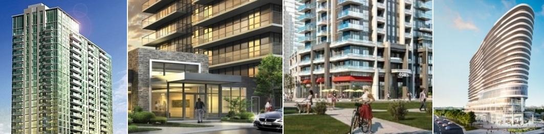 Arc Condos, Block Nine Condos,Grade-Mirage Condos, Downtown Erin Mills Condos completion in 2020