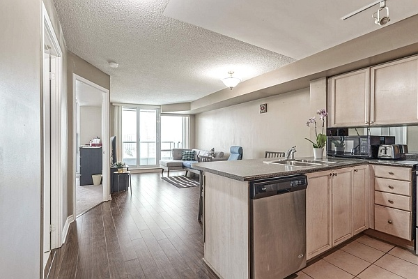 1 BR with Den Elm Dr Condo For Sale