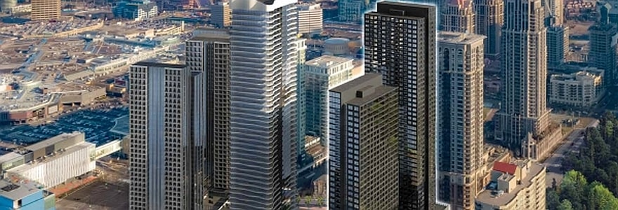 Condominiums at Square One District